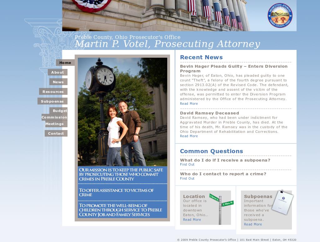 Preble County Prosecutor's Office Competitors, Revenue and