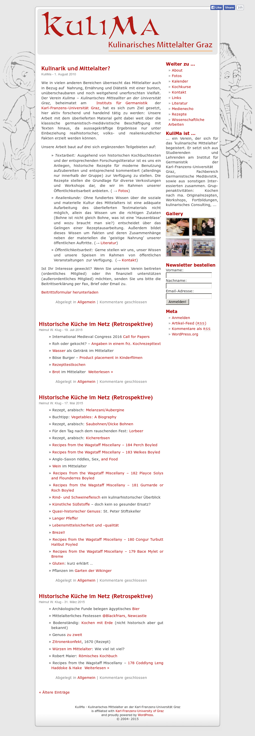 Kulima Kulinarisches Mittelalter Graz Competitors Revenue