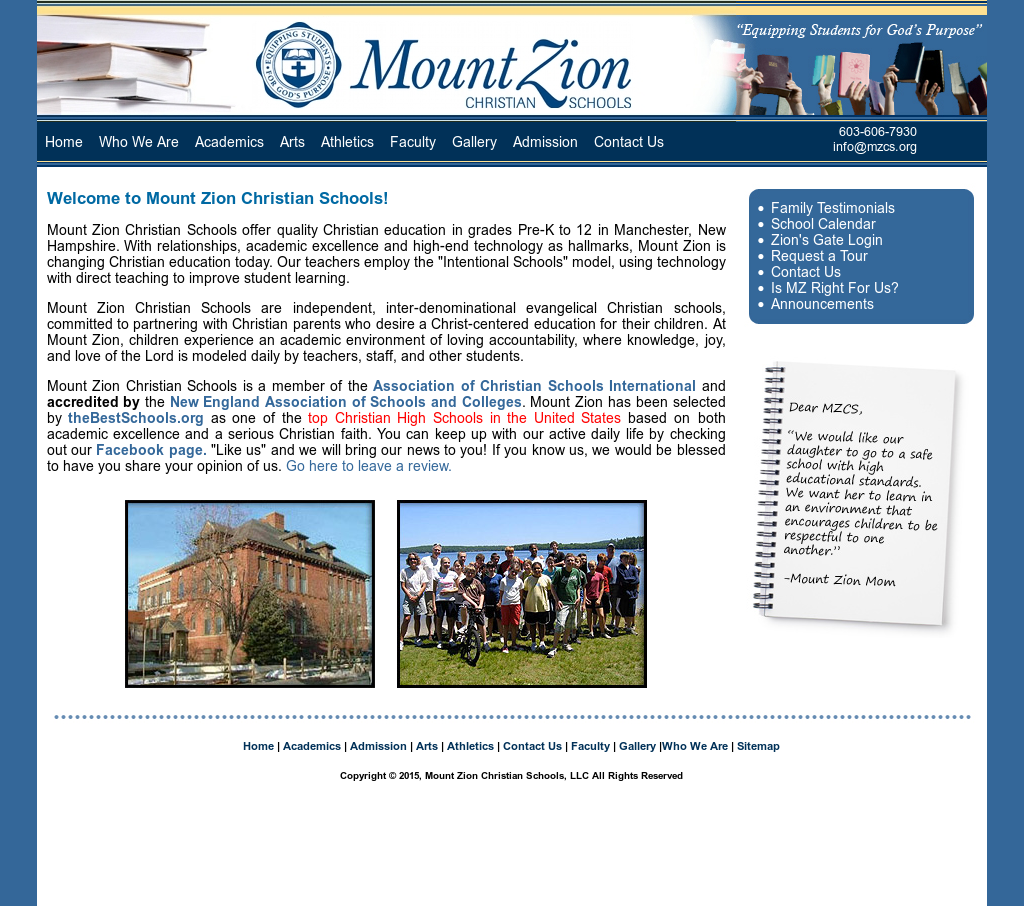mount zion christian dating site Mount zion christian academy in durham, north carolina (nc) serves 197  students in grades kindergarten-12 find data, photos, and reviews about this.