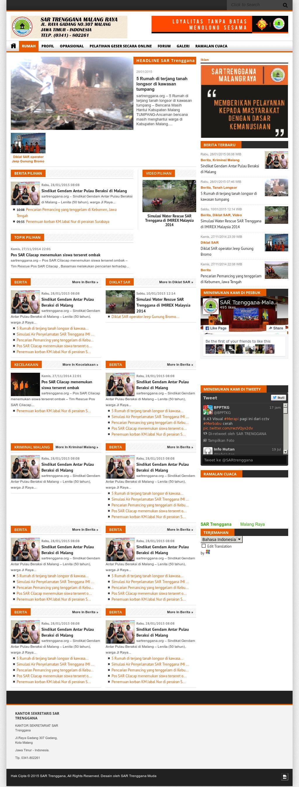 Sar Trenggana Malang Raya Competitors Revenue And Employees Owler Company Profile