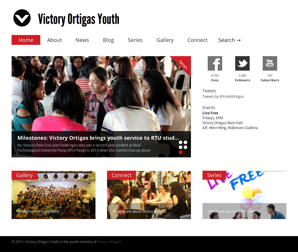 Victory Ortigas Youth Competitors, Revenue and Employees