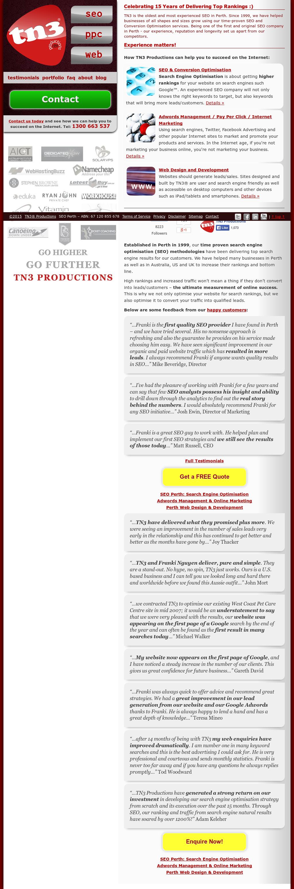 Tn3 Competitors, Revenue and Employees - Owler Company Profile