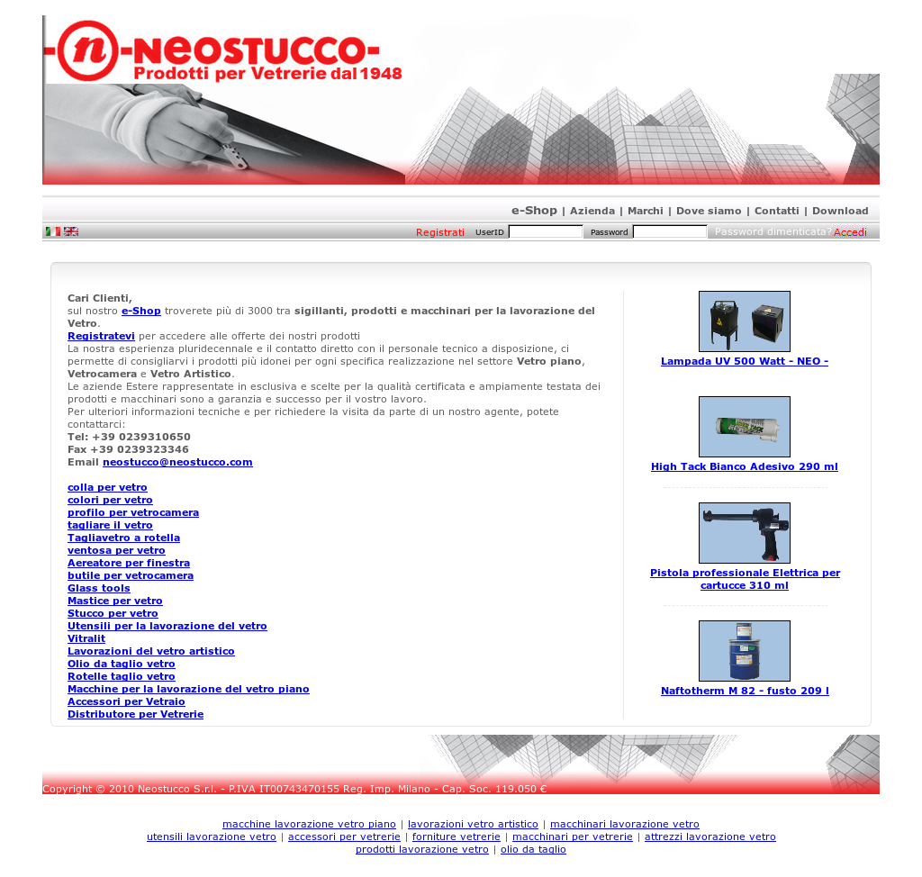 Adesivo Per Vetrai neostucco srl competitors, revenue and employees - owler