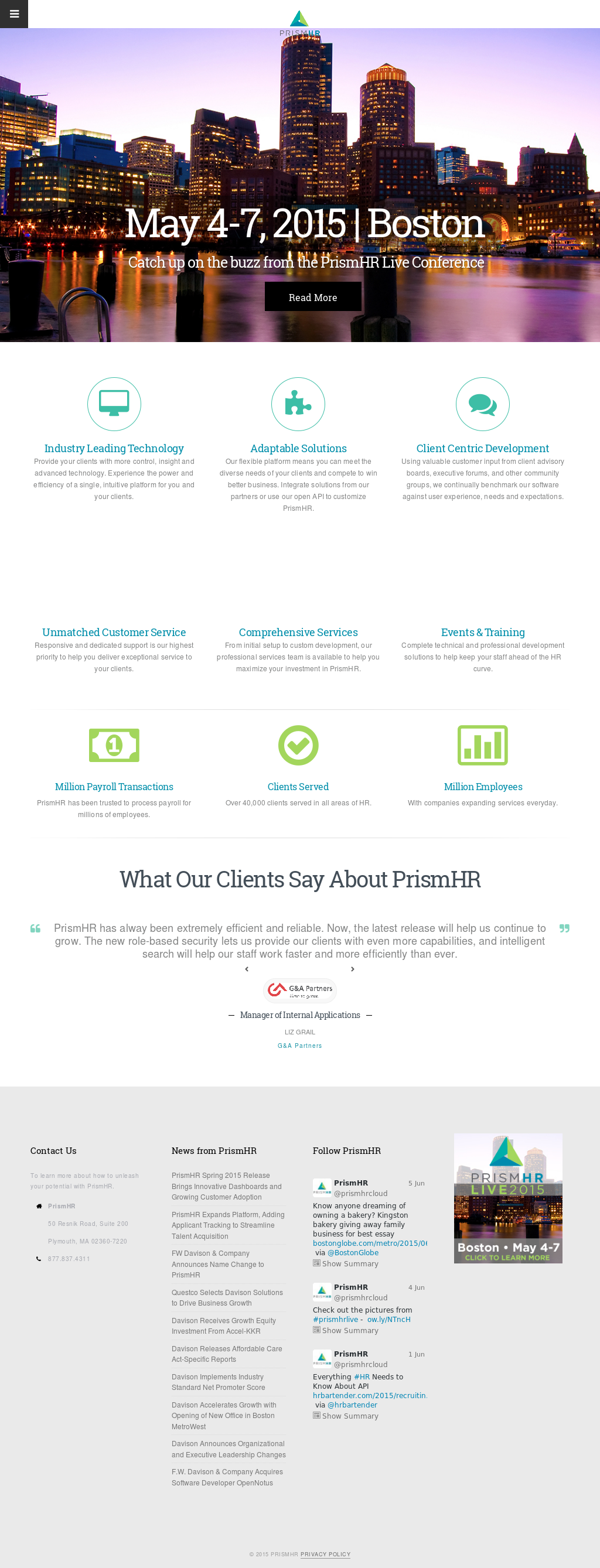 PrismHR Competitors, Revenue and Employees - Owler Company Profile