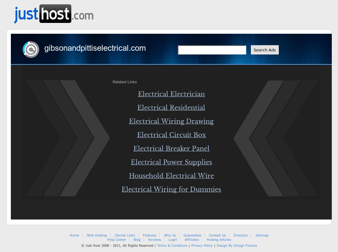 Gibson And Pittis Electrical Contractors Competitors Revenue Wiring Terms Contractorss Website Screenshot On Jul 2015