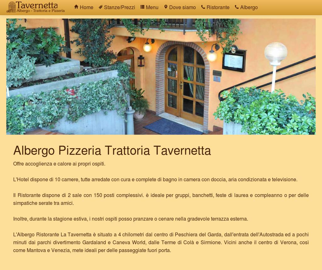 Albergo Pizzeria Tavernetta Di Zuccotti Ugo E C Snc