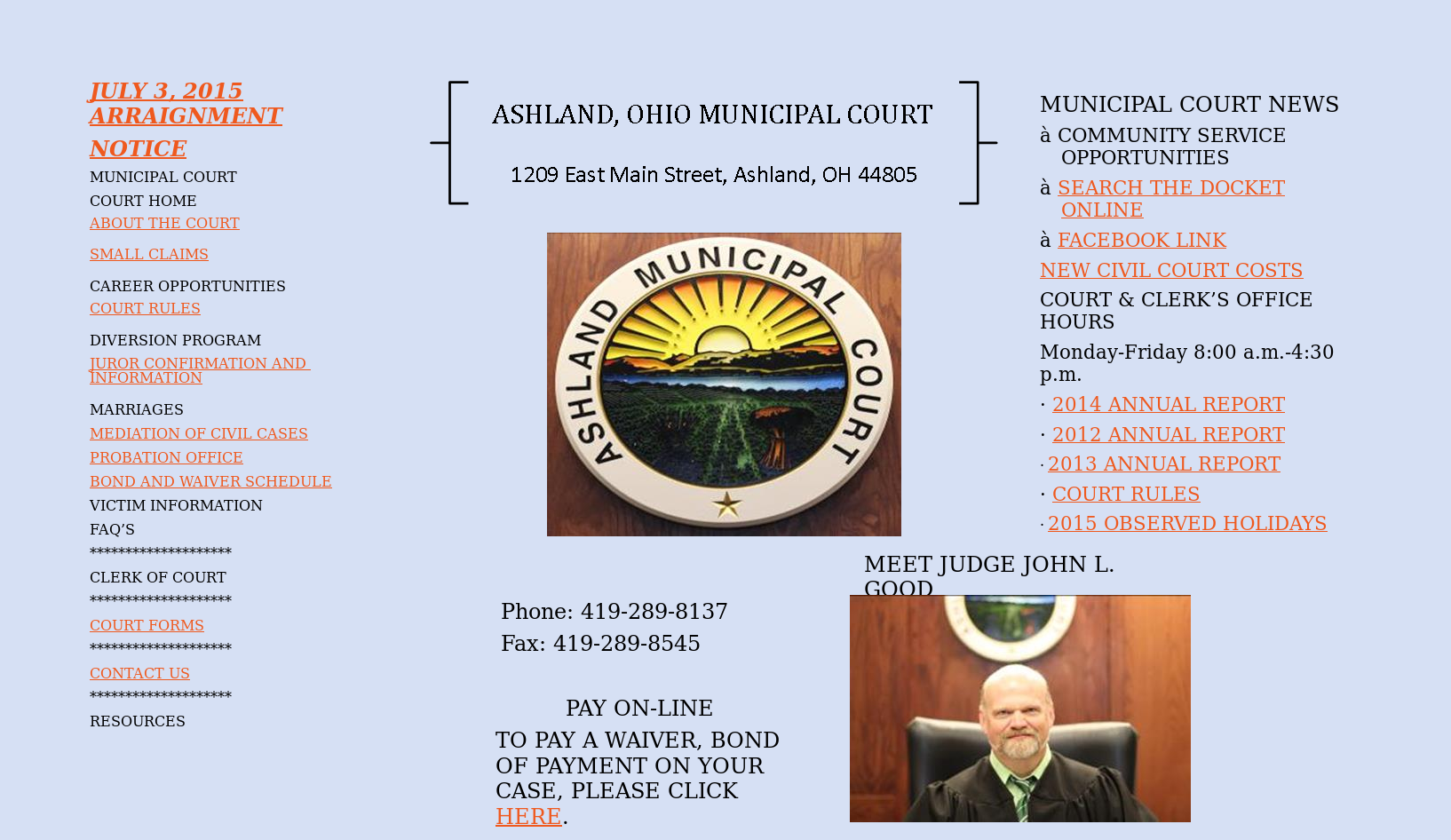 Ashland Municipal Court (Ohio) Competitors, Revenue and