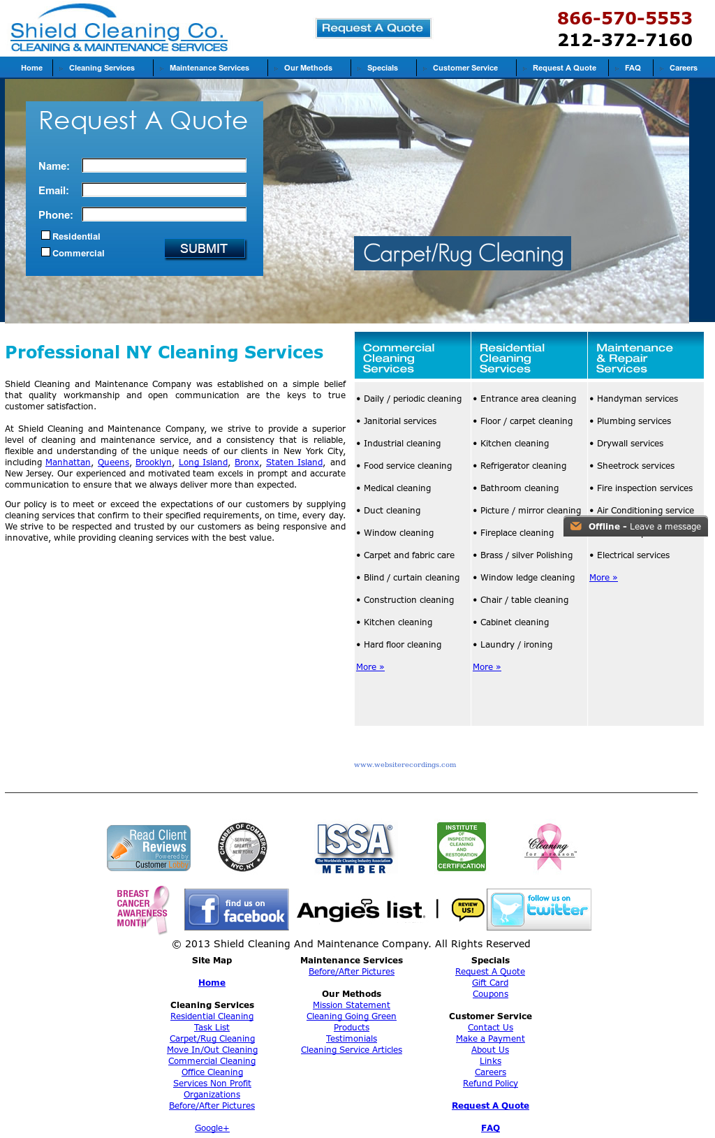 Shield Cleaning Company Competitors