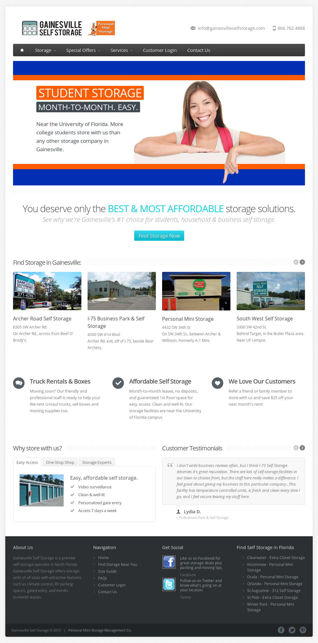 Self Storage St Pete Fl Dandk Organizer