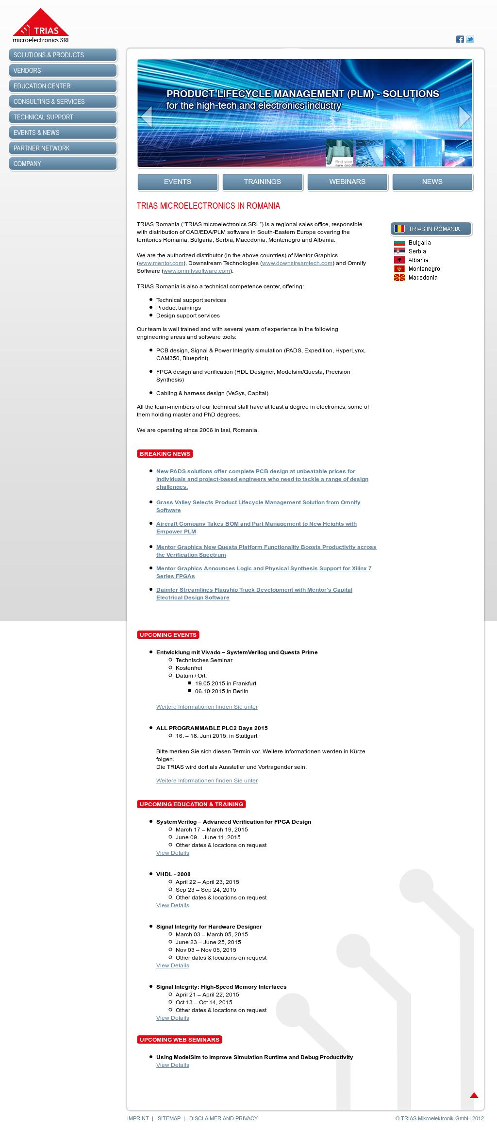 Trias Micro Competitors Revenue And Employees Owler Company Profile Vesys Design Mentor Graphics
