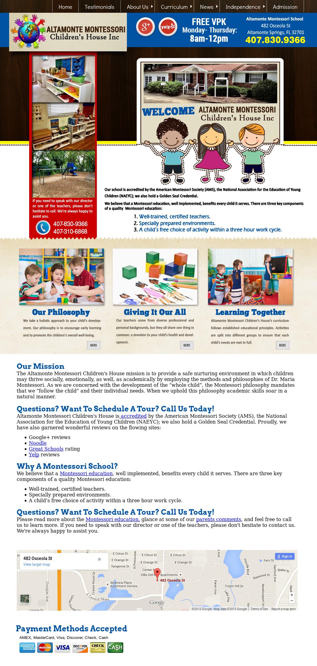 Altamonte Montessori Children\'s House Competitors, Revenue and ...