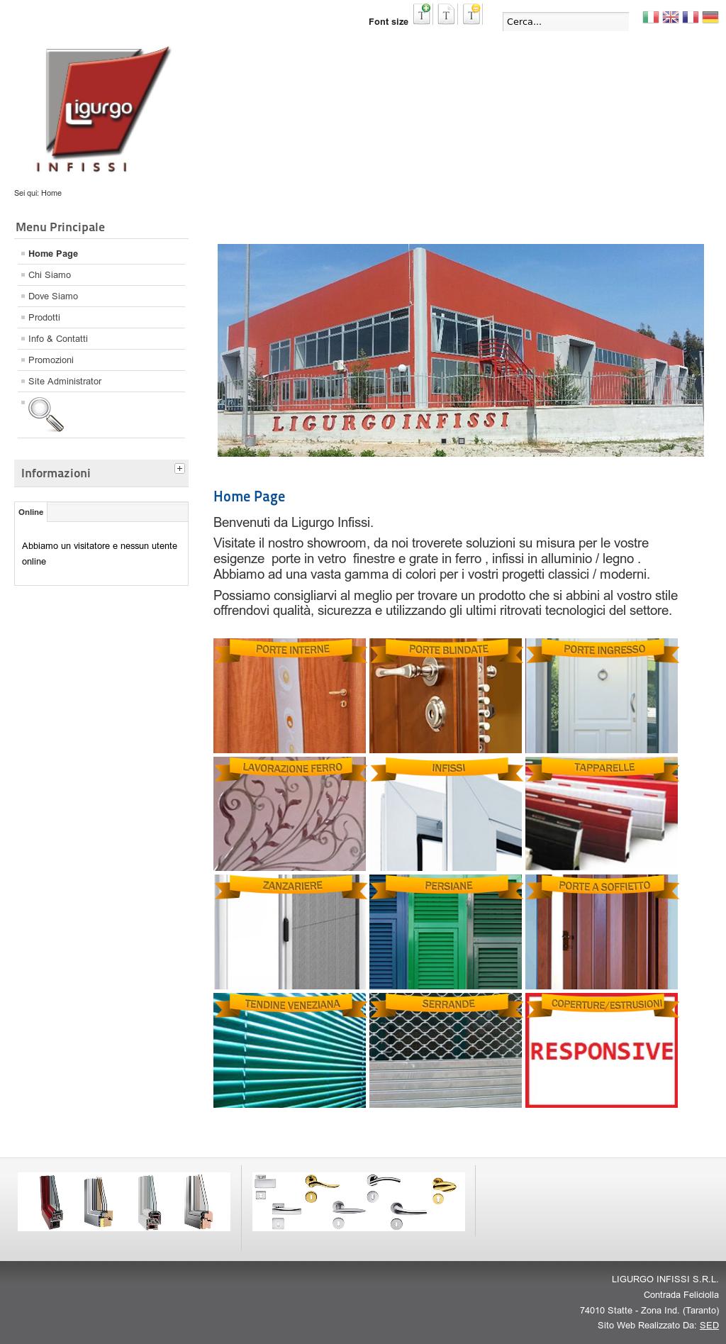 Colori Infissi In Alluminio ligurgo infissi s.r.l competitors, revenue and employees