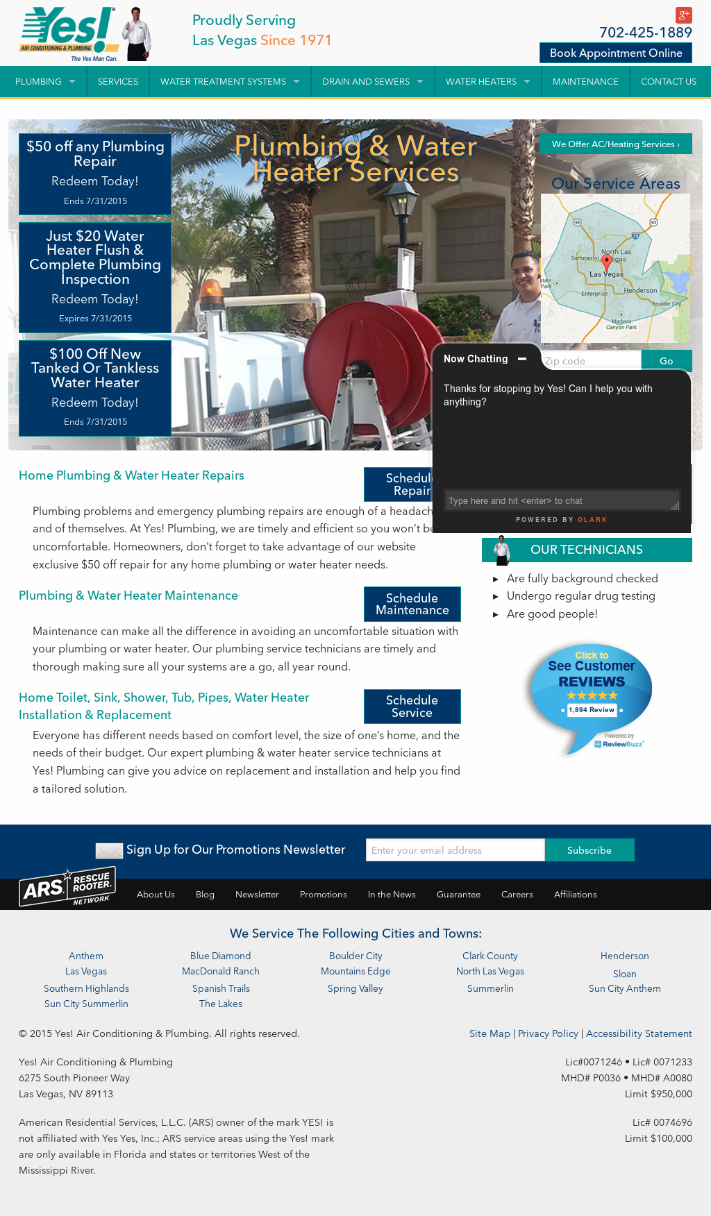 Yes Air Conditioning Plumbing Compeors Revenue And Employees Owler Company Profile