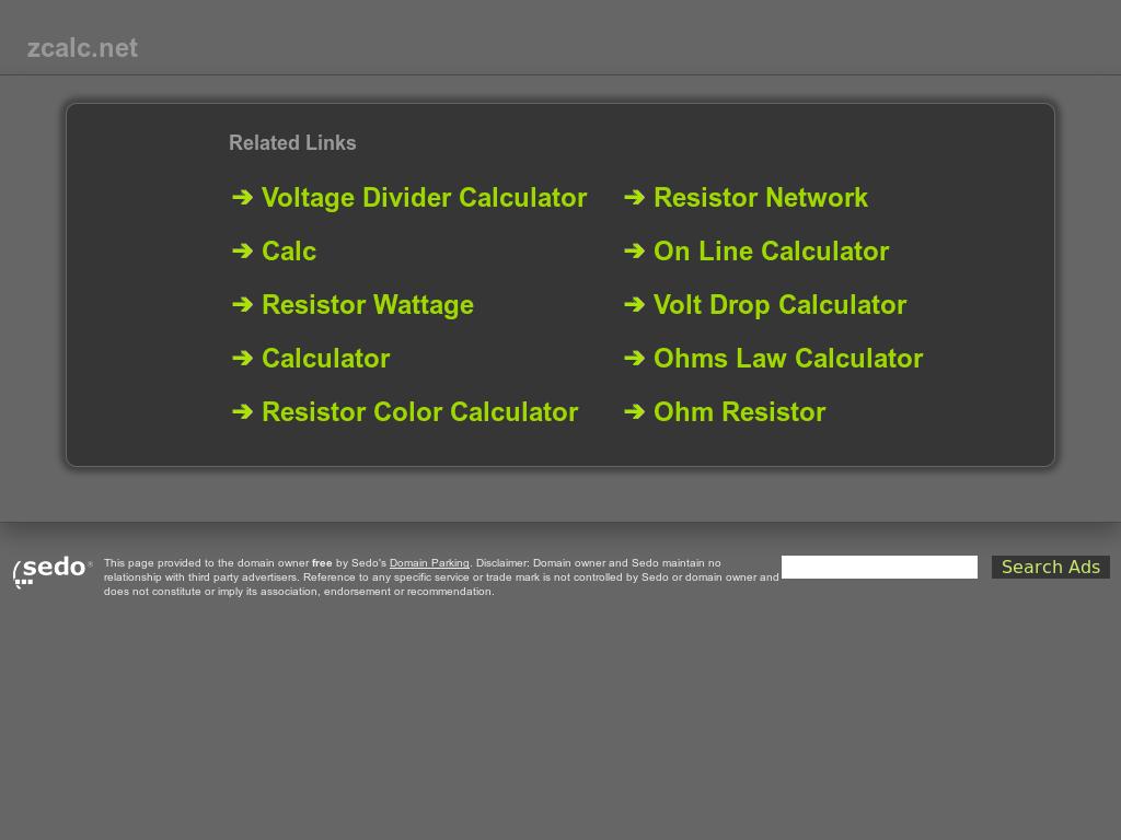Zcalc Competitors Revenue And Employees Owler Company Profile Voltage Divider Calculator
