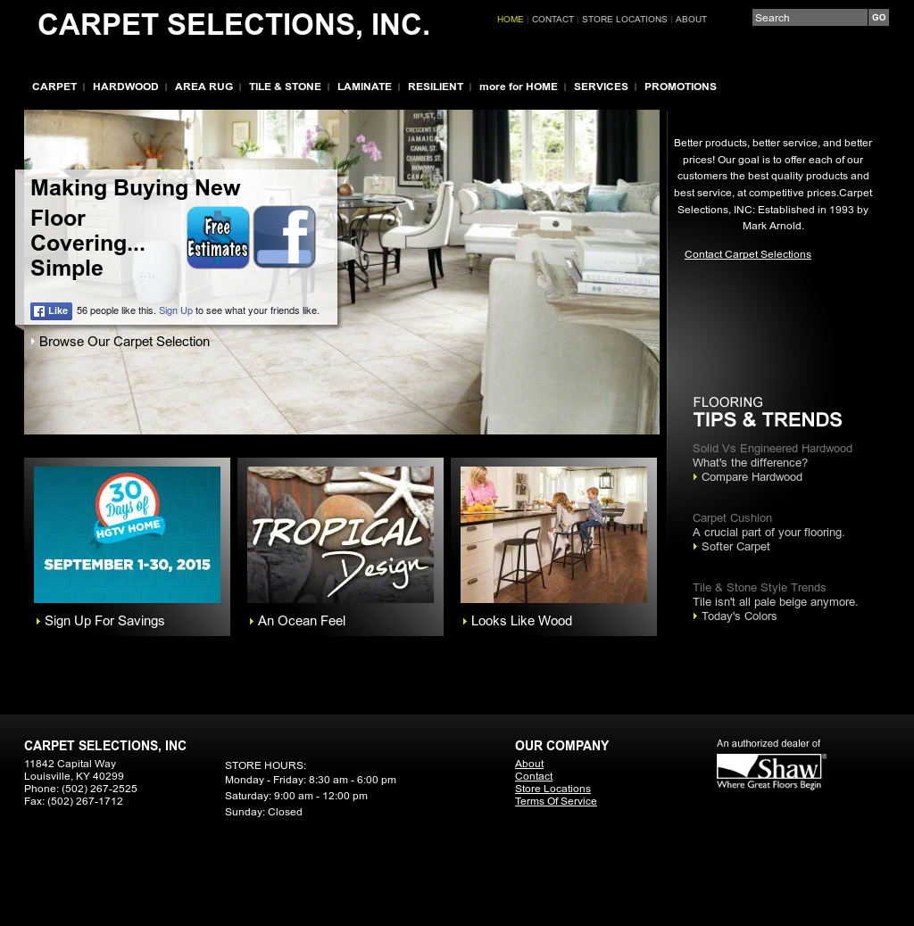 Carpet Selections Competitors, Revenue and Employees - Owler Company Profile