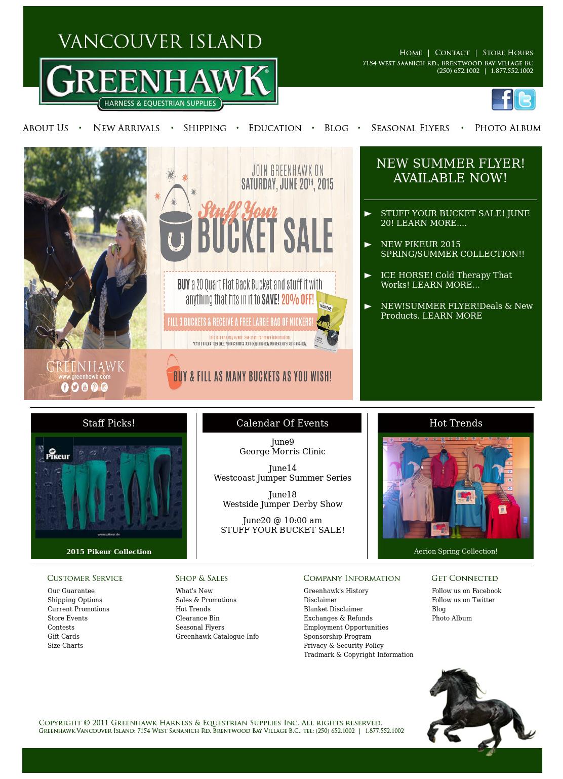 Greenhawk Vancouver Island Competitors, Revenue and