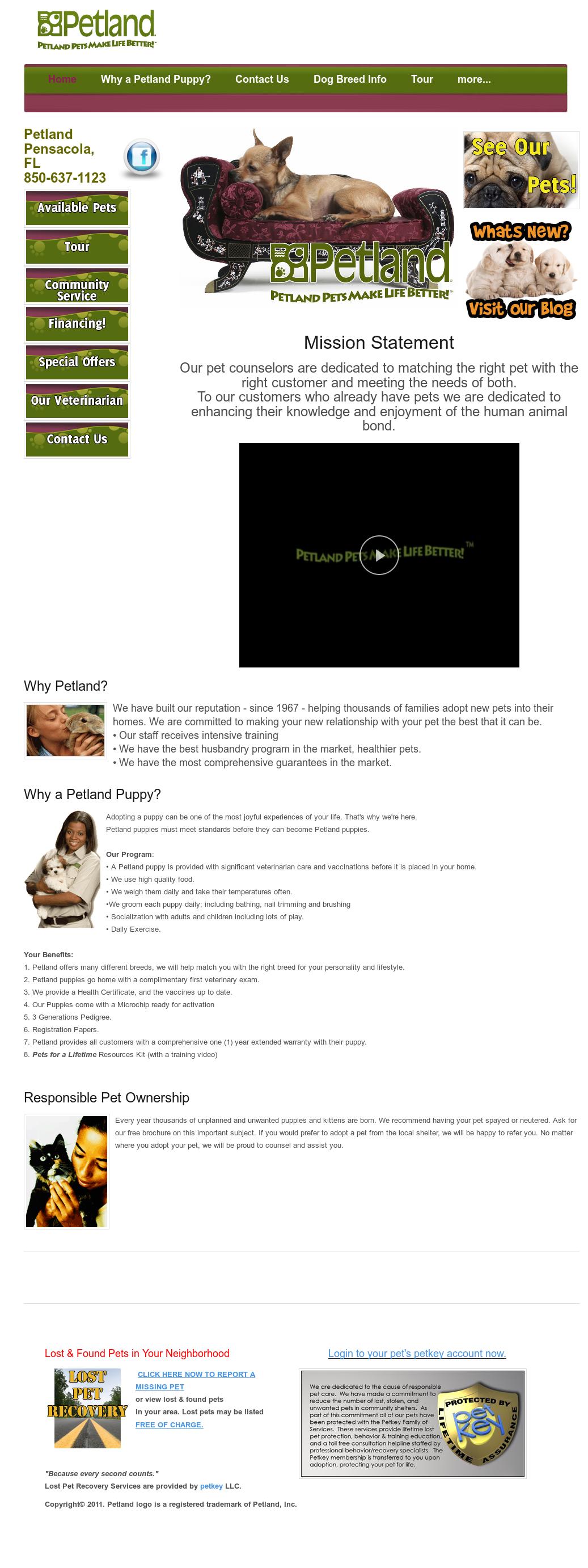 Petland Pensacola Competitors, Revenue and Employees - Owler