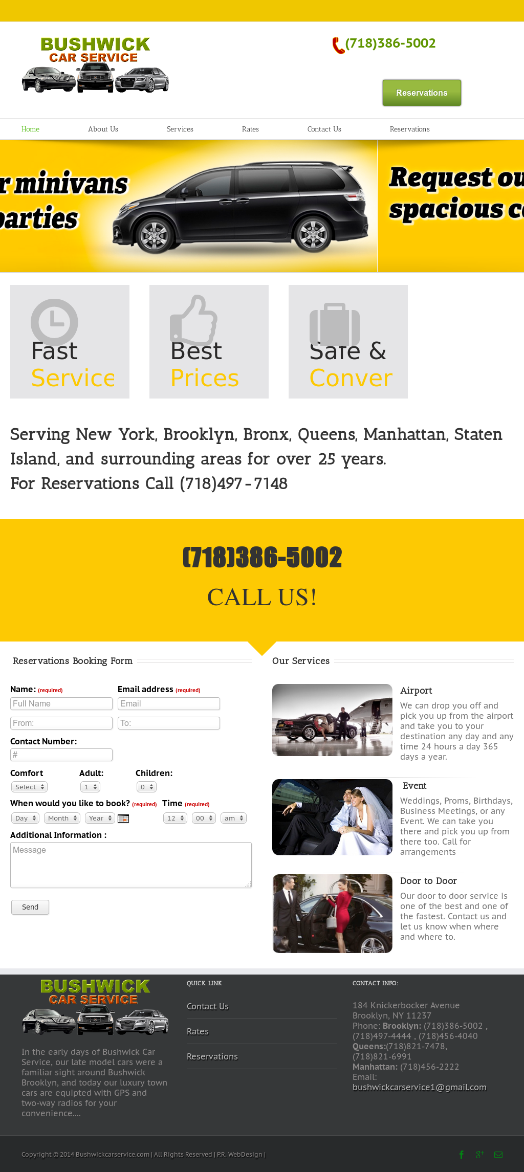 Bushwick Car Service >> Bushwick Car Service Competitors Revenue And Employees