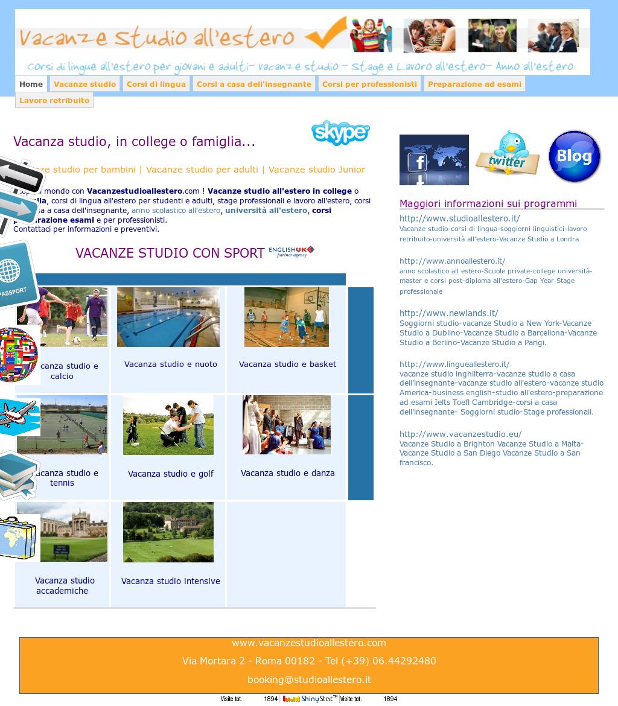 Vacanze Studio All\'estero Competitors, Revenue and Employees - Owler ...
