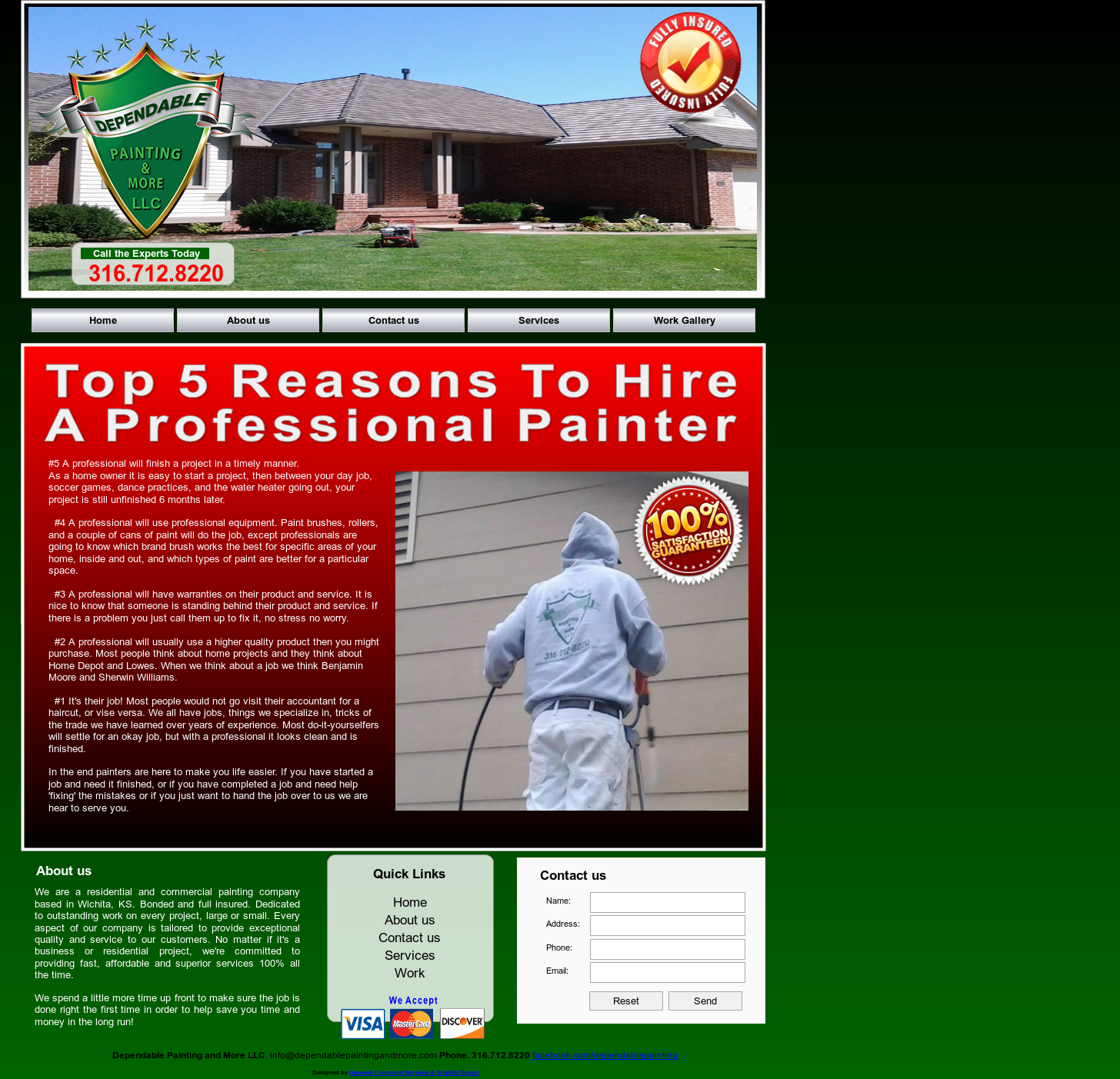 Dependable Painting And More Competitors Revenue And Employees