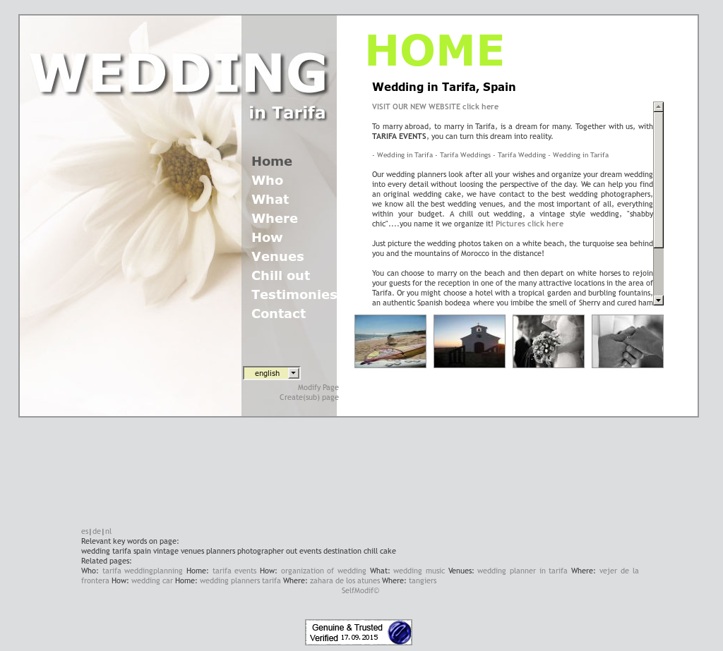 wedding in tarifa by tarifa events competitors revenue and