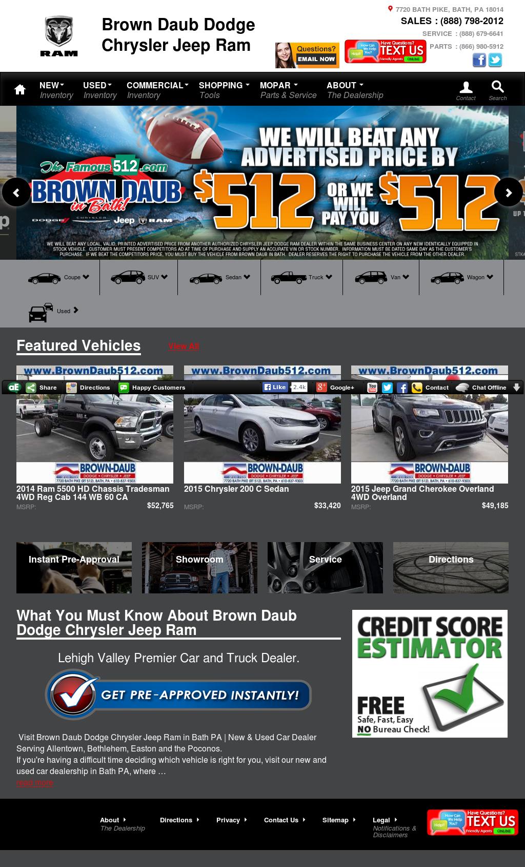 Brown Daub Jeep >> Brown Daub Dodge Chrysler Jeep Ram Competitors Revenue And
