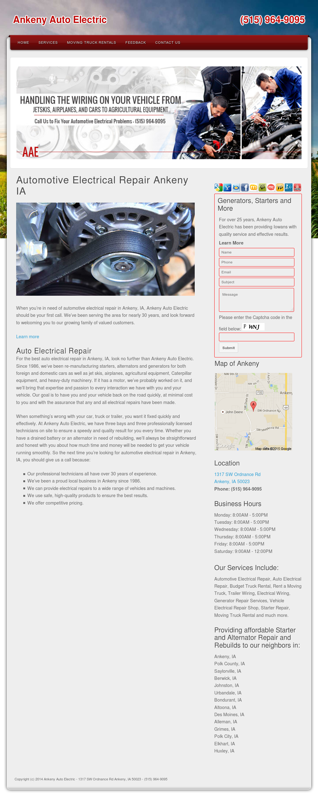 Ankeny Auto Electric Competitors Revenue And Employees Owler Porsche Trailer Wiring Company Profile