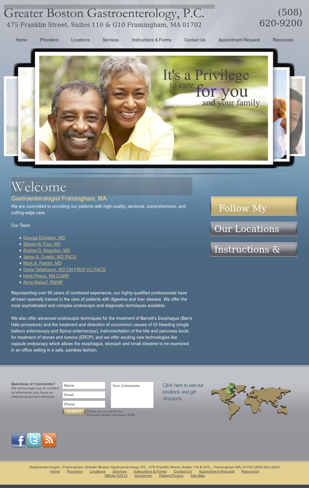 Greater Boston Gastroenterology, P c Competitors, Revenue and
