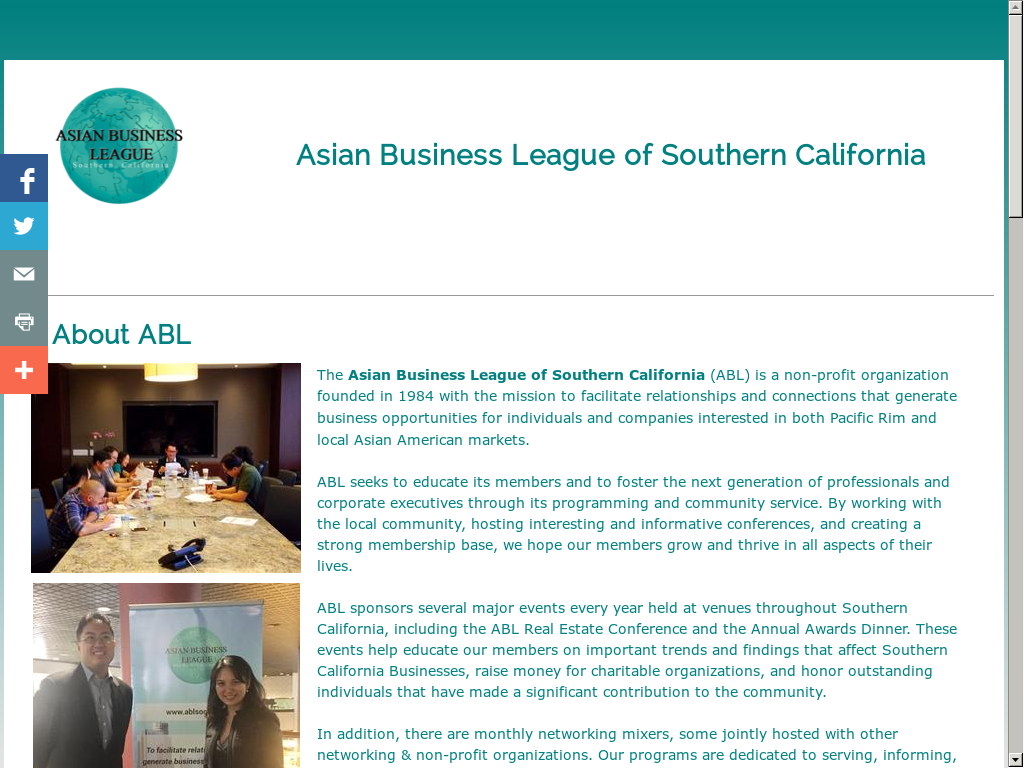 Hot Asian business organizations