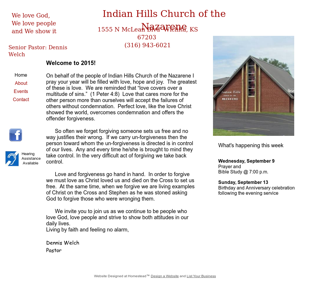 Indian Hills Church Of The Nazarene Competitors, Revenue and