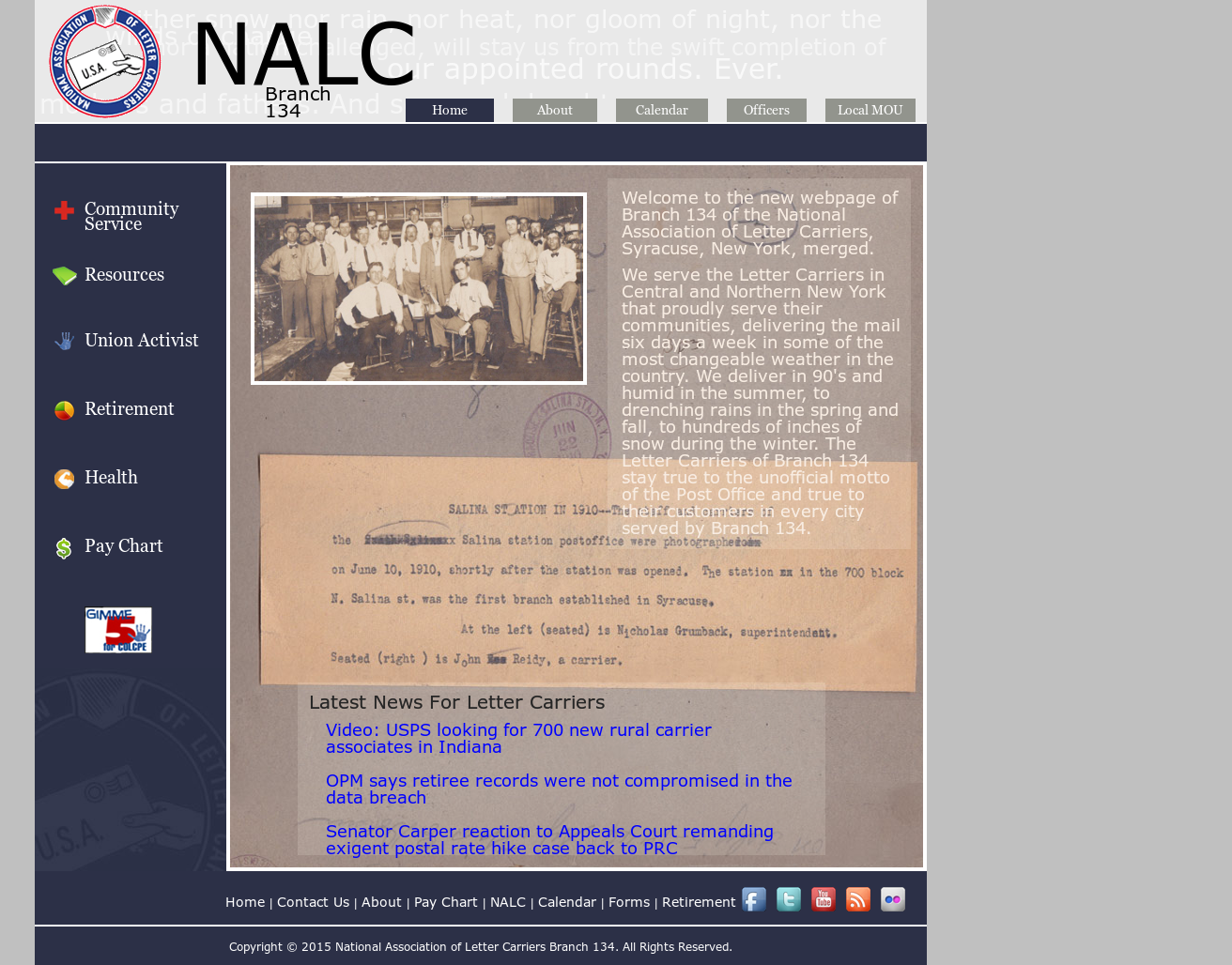 Nalc Branch 134 Merged Competitors, Revenue and Employees
