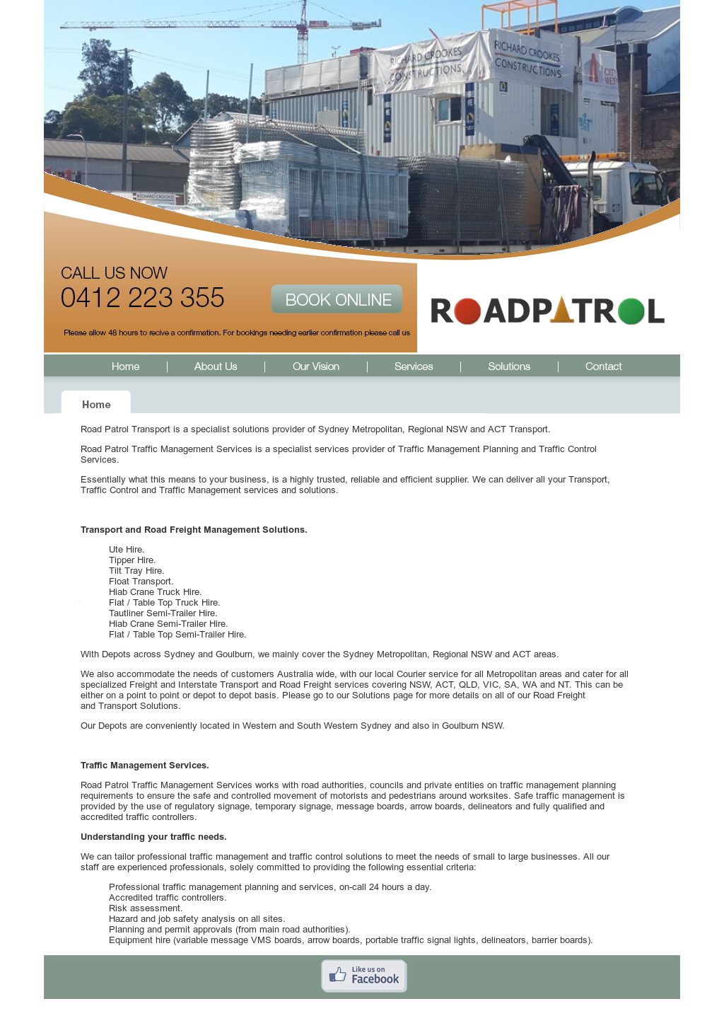 Road Patrol Transport Competitors, Revenue and Employees