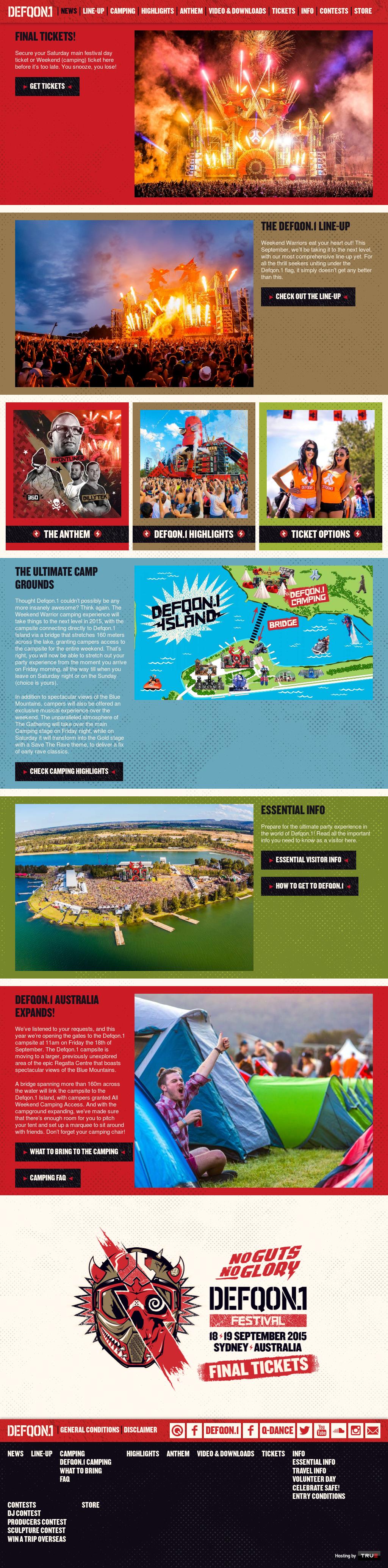 Defqon 1 Festival Australia Competitors, Revenue and