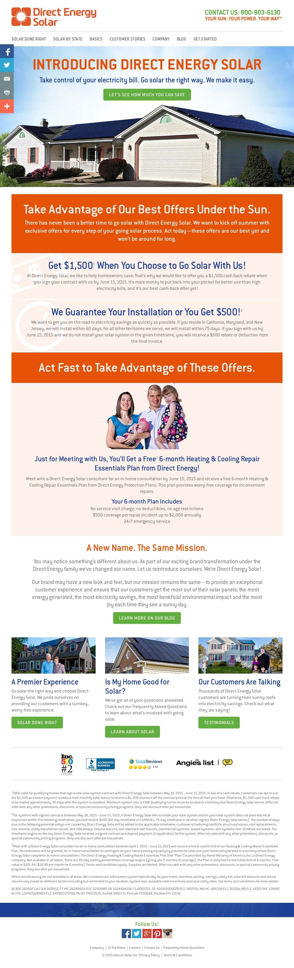 Direct Energy Pay As You Go >> Direct Energy Solar Competitors Revenue And Employees