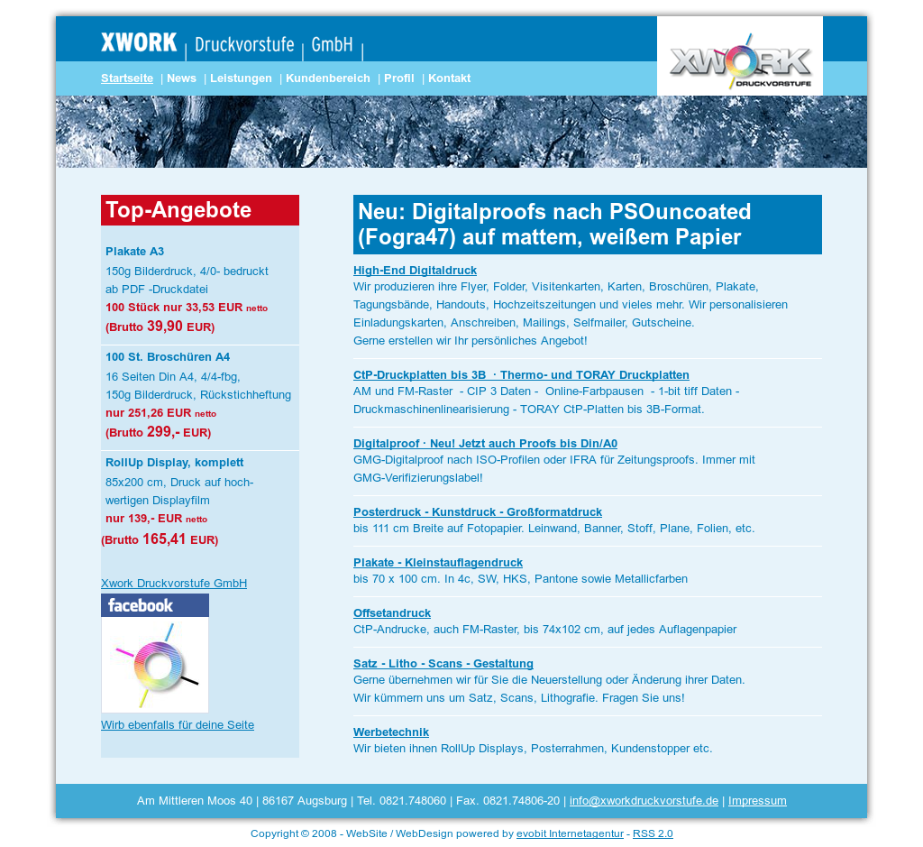 Xwork Druckvorstufe Competitors Revenue And Employees