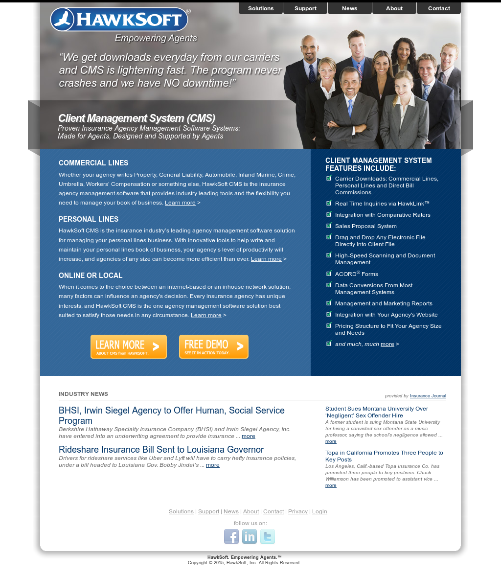 Hawksoft Competitors, Revenue and Employees - Owler Company