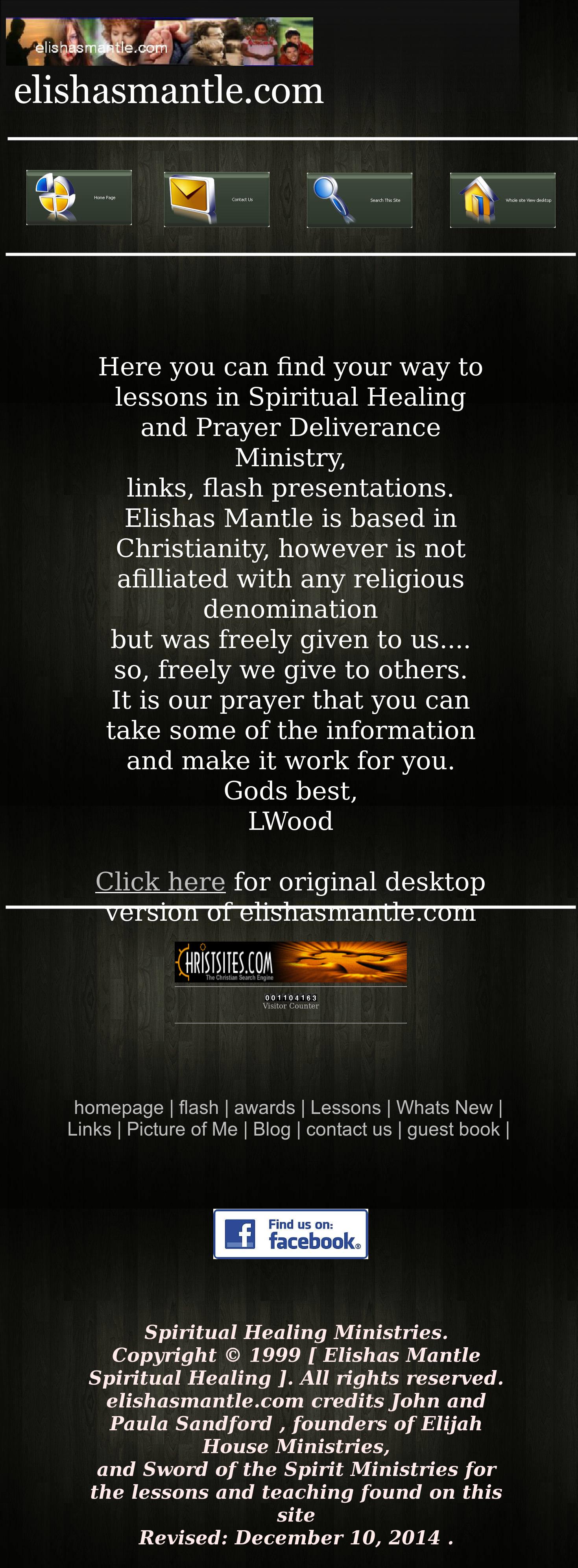 Elishas Mantle Spiritual Healing Competitors, Revenue and