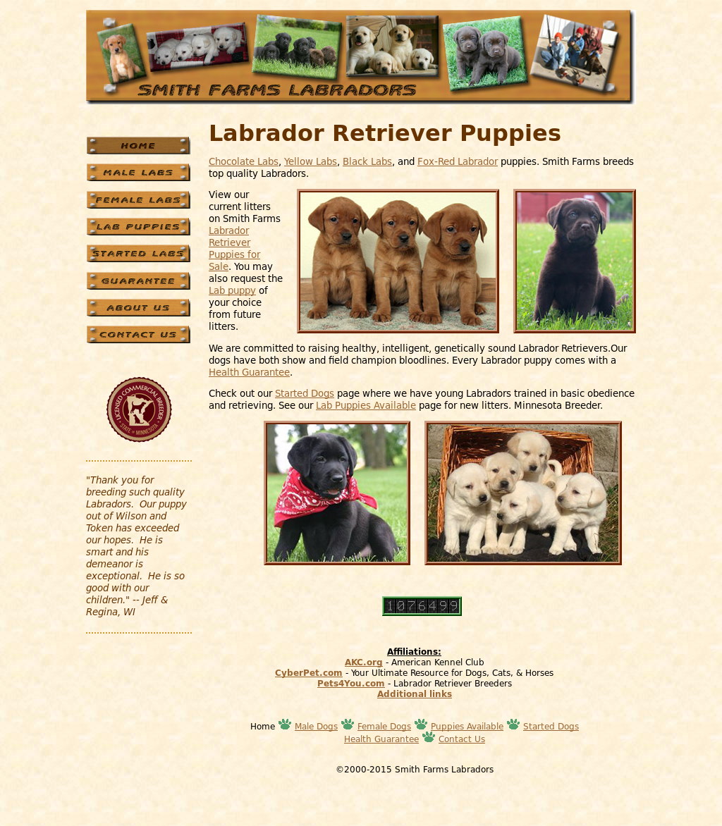 Smith Farms Labradors Competitors, Revenue and Employees - Owler