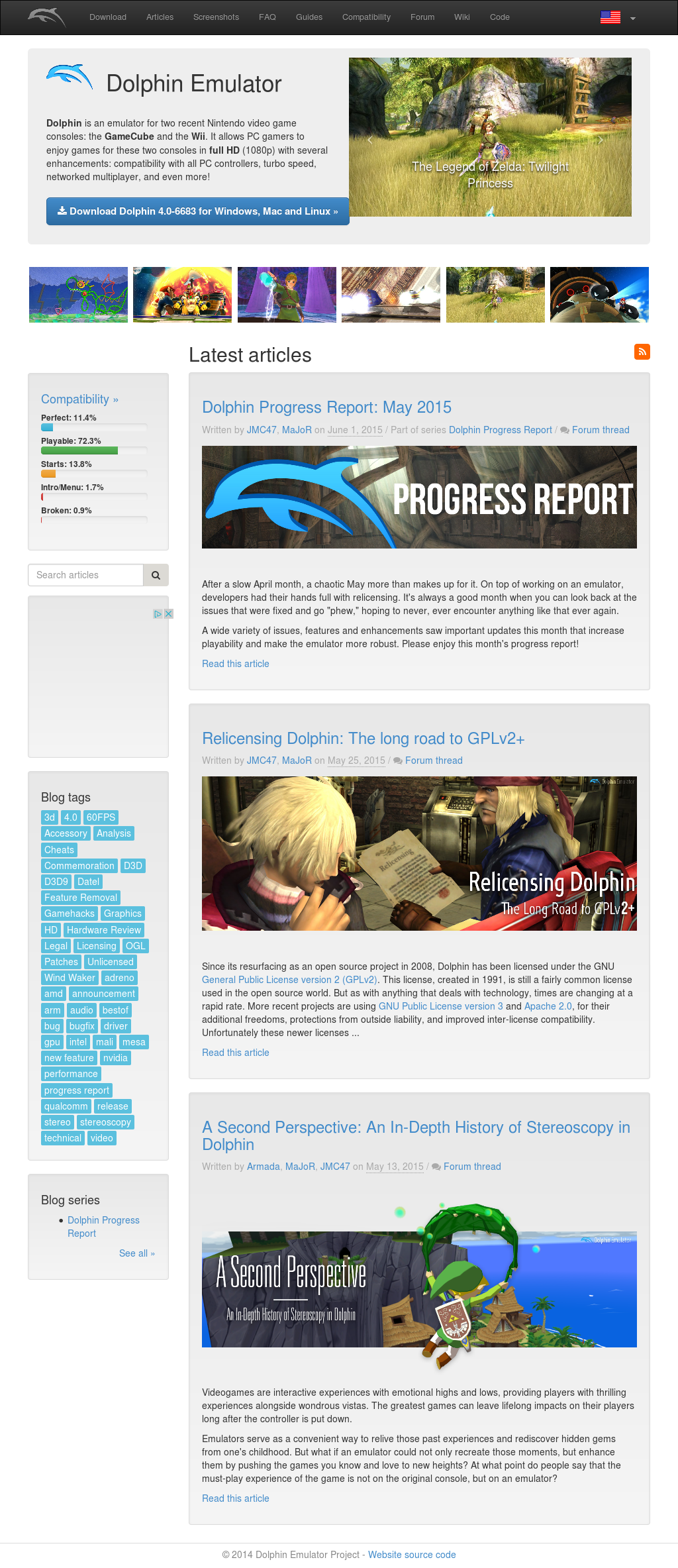 Dolphin Emulator Project Competitors, Revenue and Employees
