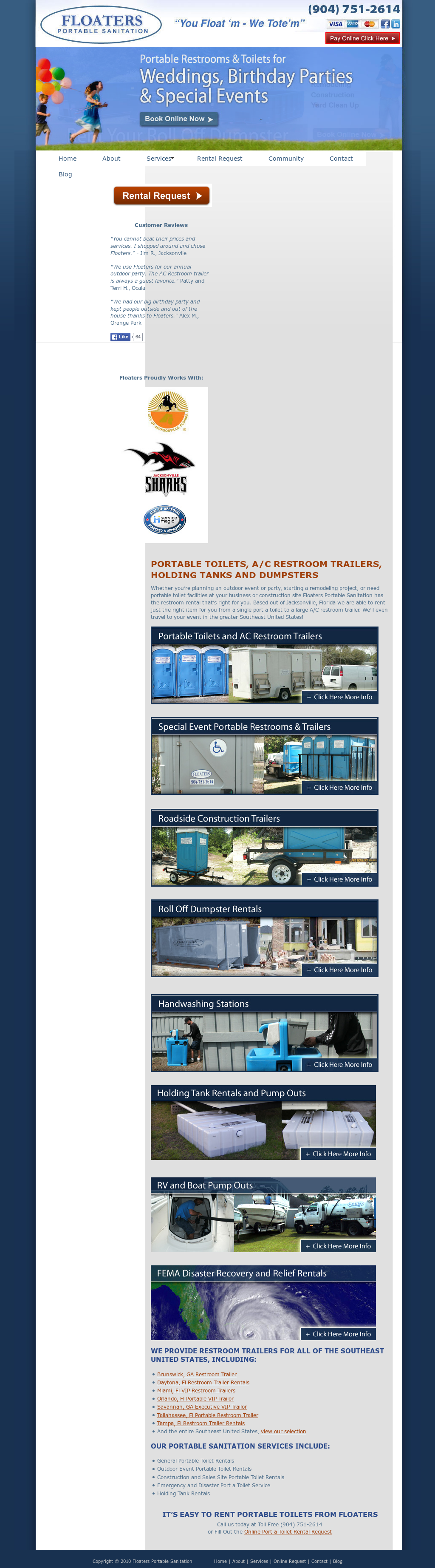 Floaters Portable Sanitation Competitors, Revenue And Employees   Owler  Company Profile
