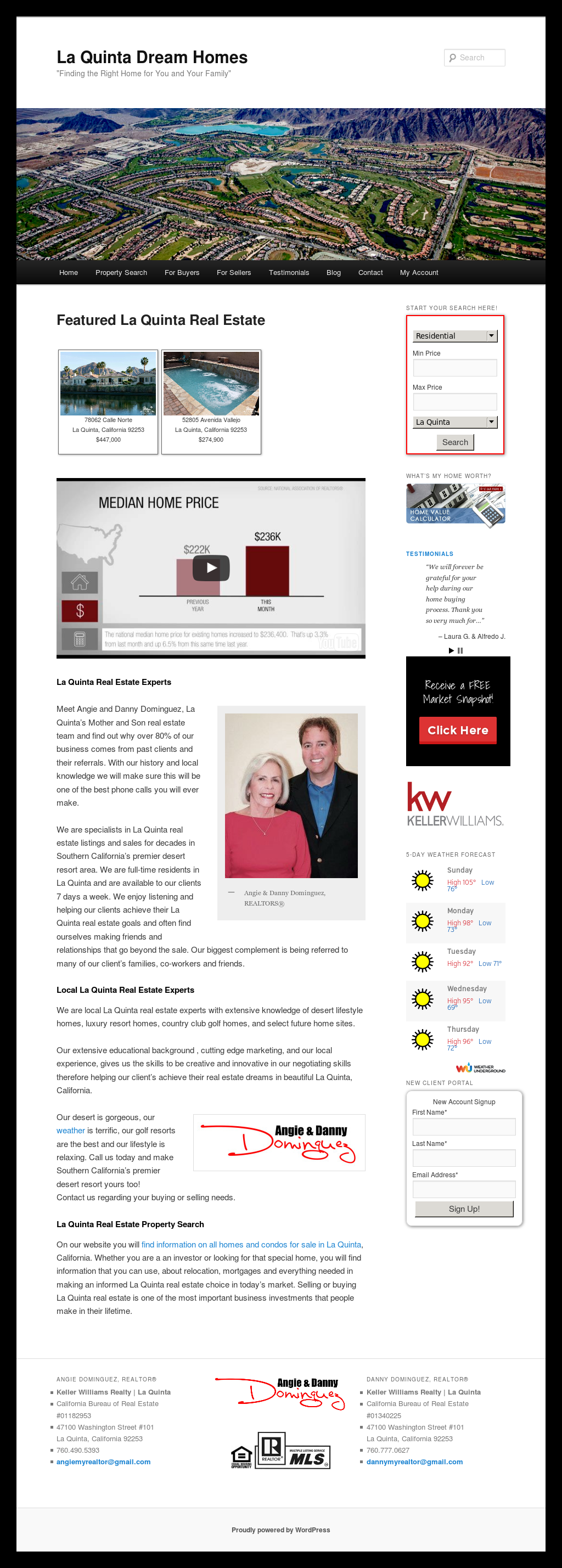 La Quinta Real Estate Experts Compe Ors Revenue And Employees Owler Company Profile