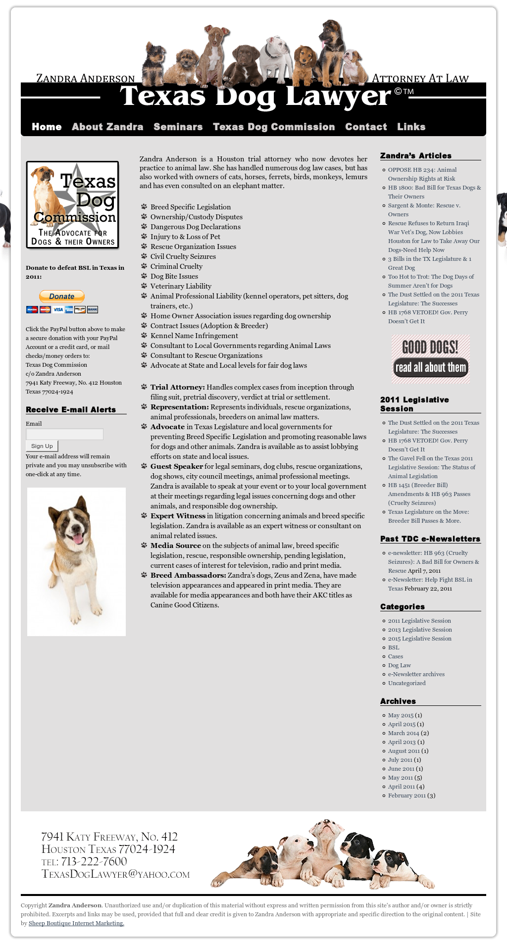 Texas Dog Lawyer Competitors, Revenue and Employees - Owler