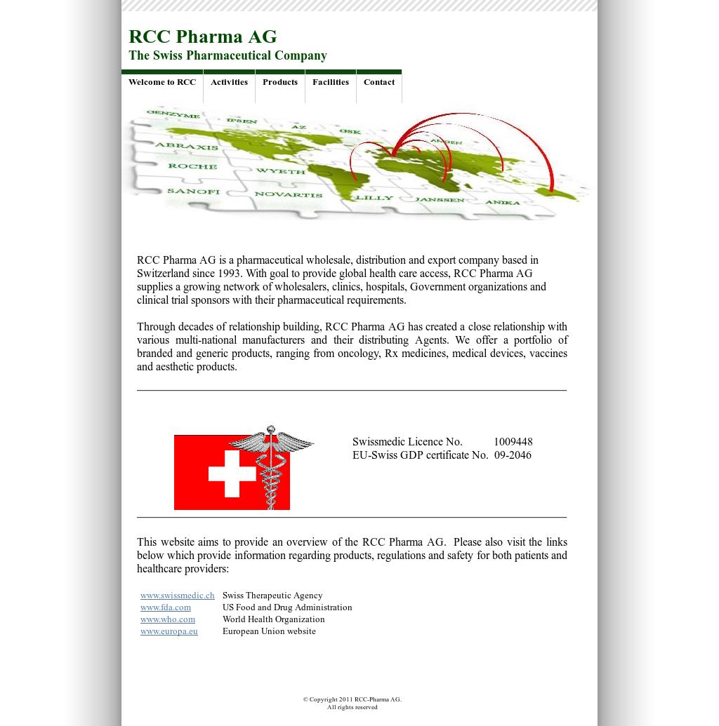 RCC Pharma Competitors, Revenue and Employees - Owler